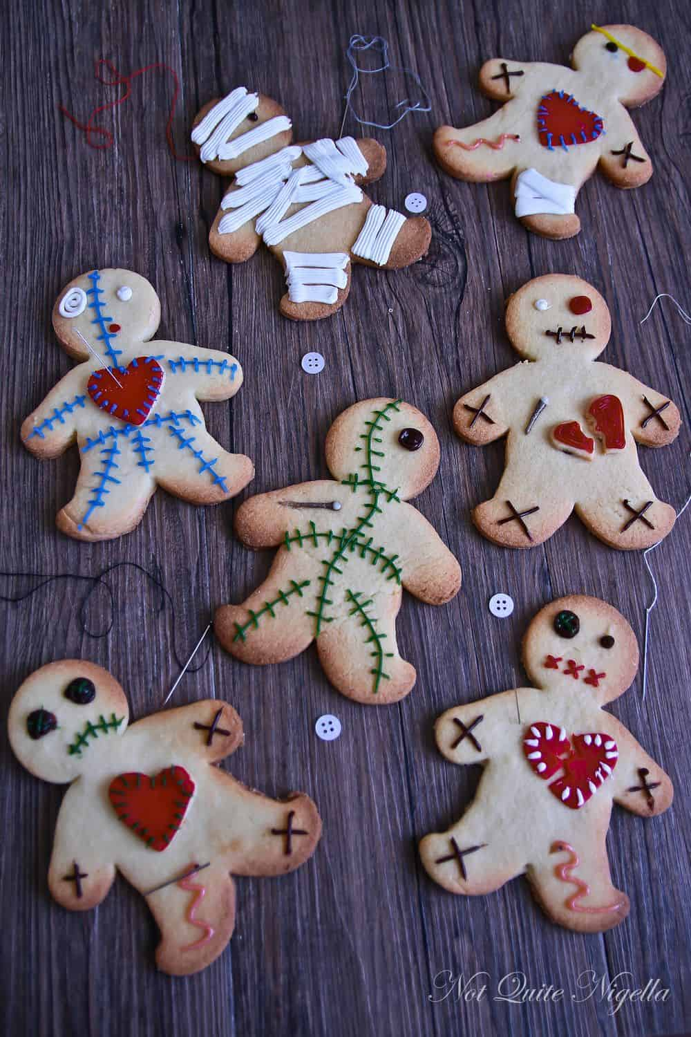 the Nightmare Before Christmas crafts gingerbread dolls 2
