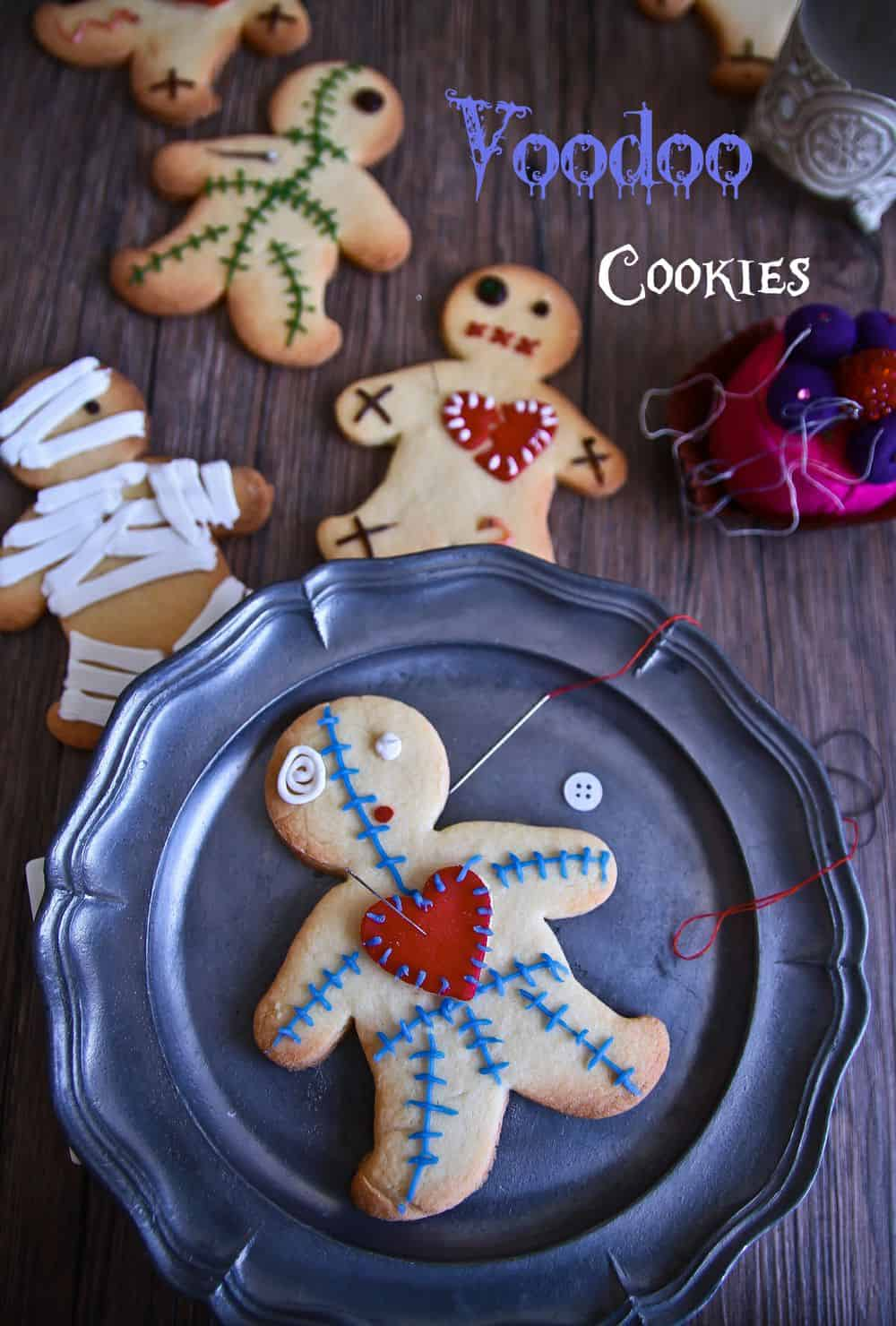 the Nightmare Before Christmas crafts gingerbread dolls