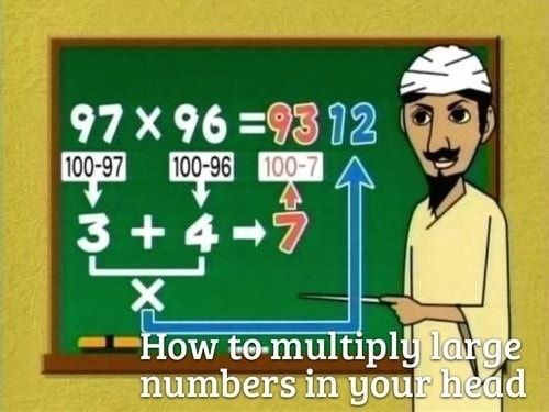 math hacks large numbers in your head