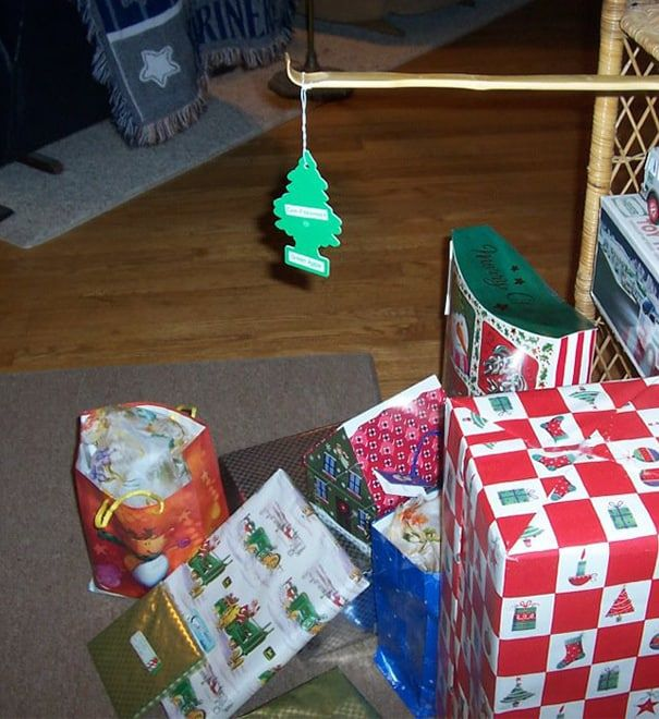 DIY Christmas tree lazy 2
