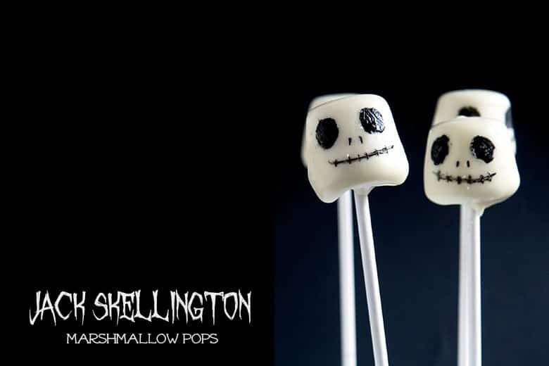 the Nightmare Before Christmas crafts marshmallow pops