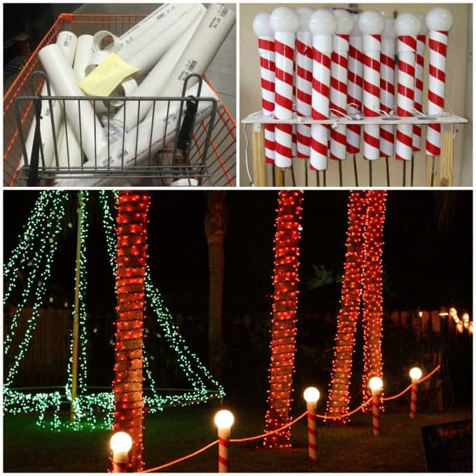 diy christmas decorations north pole lights