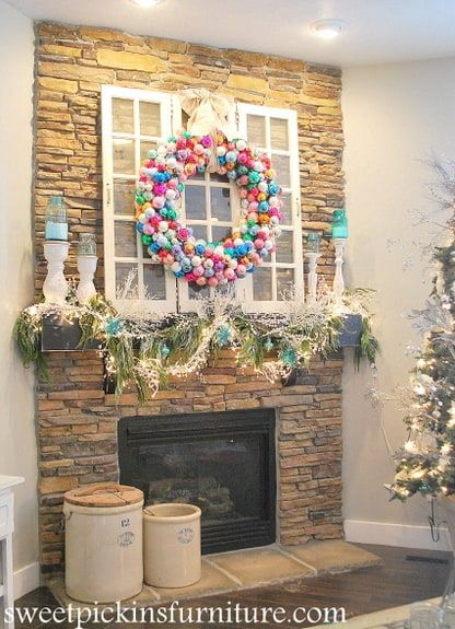 diy christmas decorations pool noodle wreath