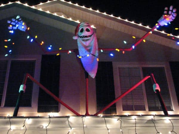 the Nightmare Before Christmas crafts roof decoration