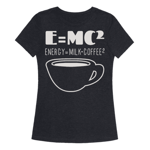 gifts for coffee lovers science-shirt
