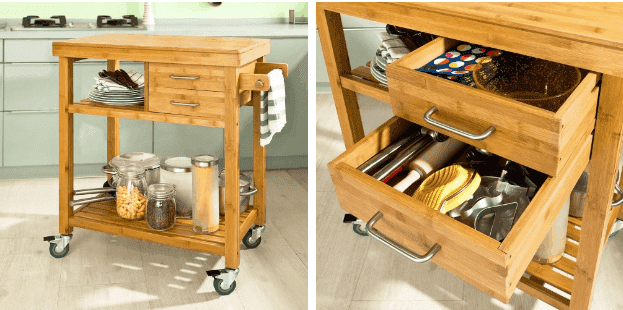 organization products for sale storage trolley