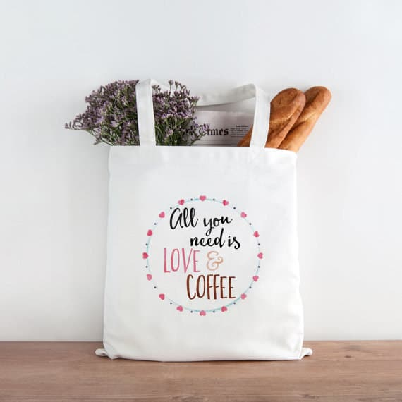 gifts for coffee lovers tote-bag