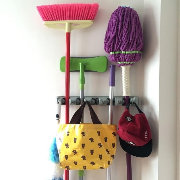 organization products for sale wall mount brooms