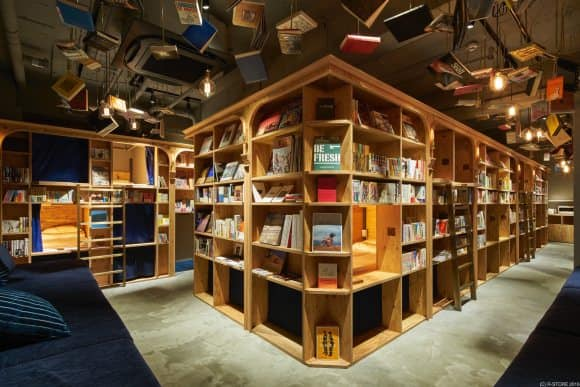 bookstore hostel 1