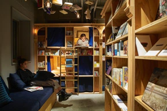 bookstore hostel 2
