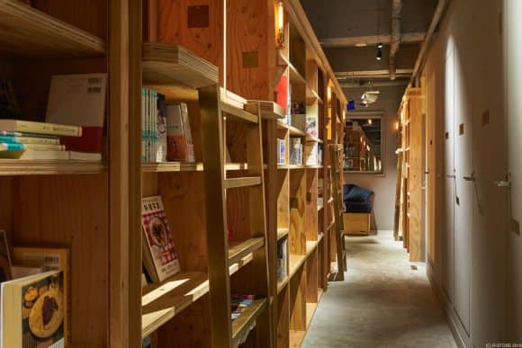 bookstore hostel 4
