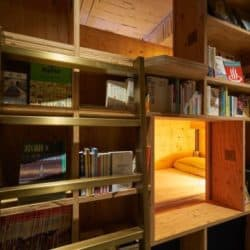 This Hostel In Kyoto Is a Bookstore You Can Sleep In