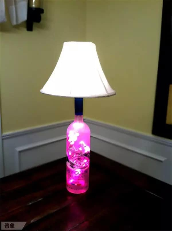 colored bottle