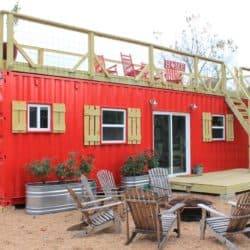 Tour A Shipping Container Tiny Home Set On The Texas Countryside