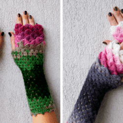 These Dragon Crochet Gloves Will Keep You Warm and Fashionable All Winter Long