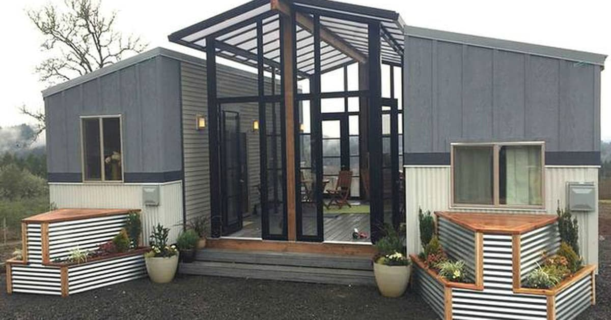 This Family Combined Two Tiny Homes To Create the Ultimate Living Space