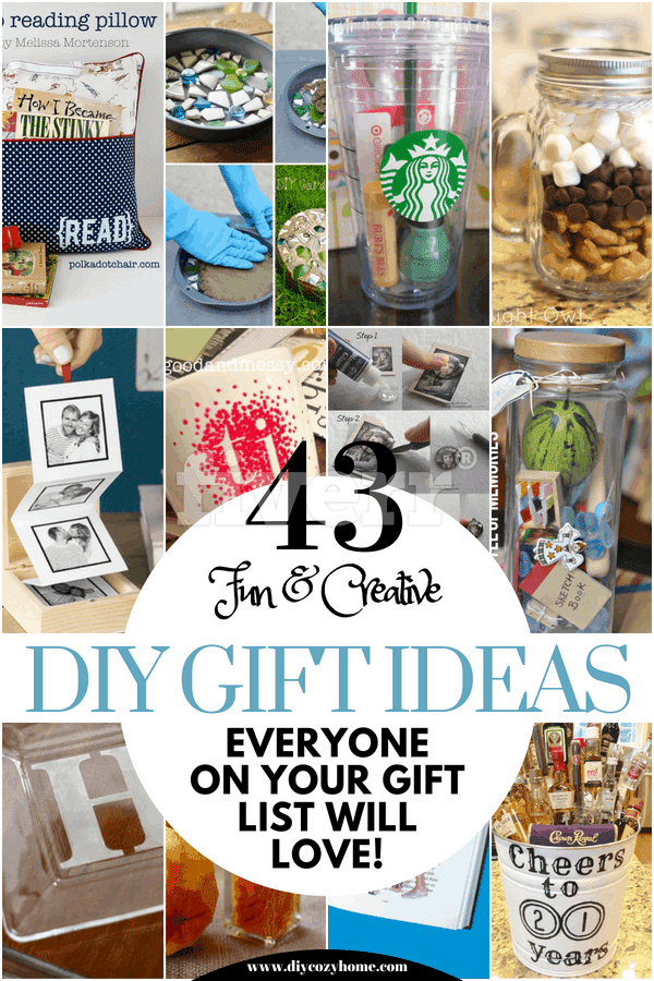 43 Fun And Creative DIY Gift Ideas Everyone On Your Gift List Will Love