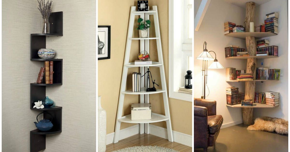 shelving ideas 17 clever corner shelving ideas 6444