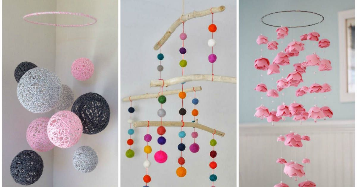 16 Crafty DIY Mobiles That Will Look Great In Any Room
