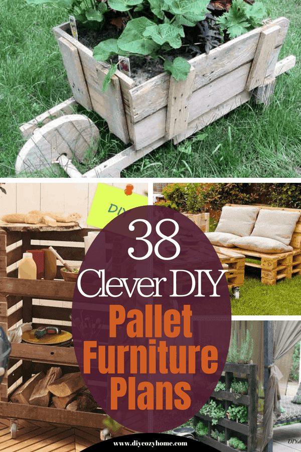 38 Clever Diy Pallet Furniture Plans