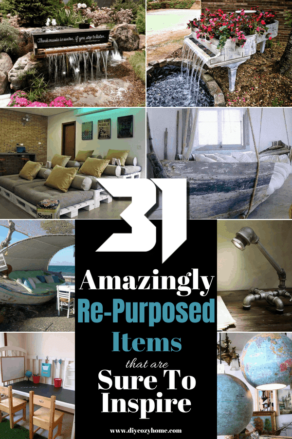 31 Amazingly Re-Purposed Items That Are Sure To Inspire