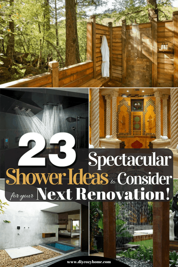 23 Spectacular Shower Ideas To Consider For Your Next Renovation
