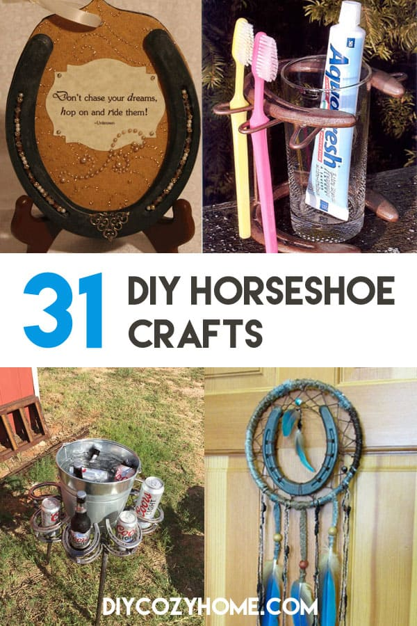 31 DIY Horseshoe Crafts To Try Your Luck With