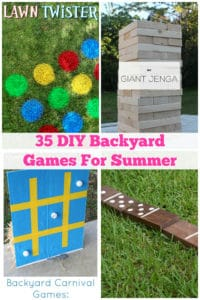 35 Fun Diy Backyard Games For Your Kids This Summer