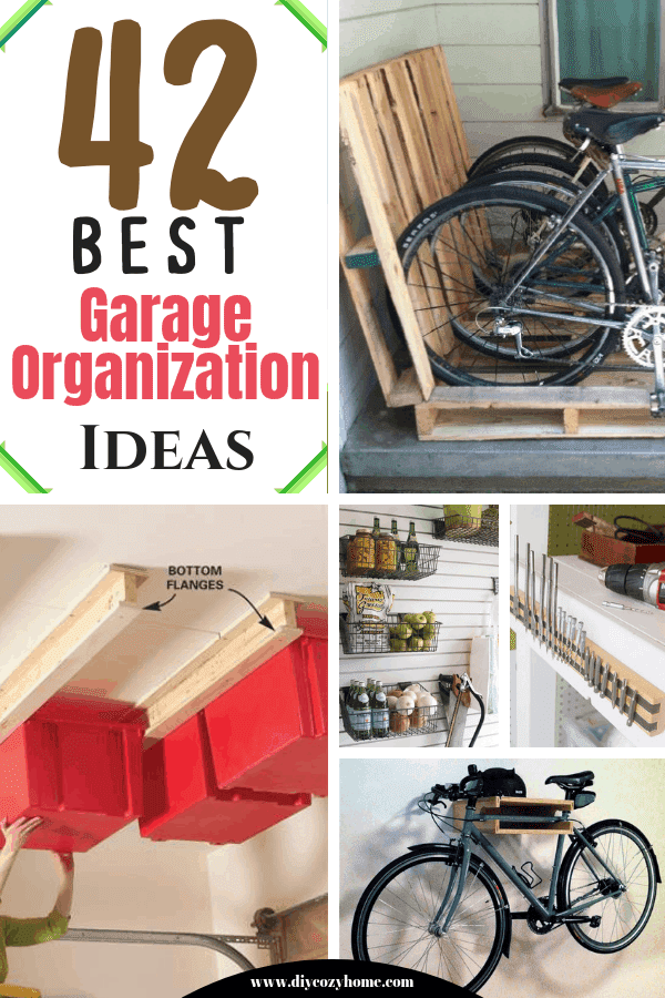 42 Best Garage Organization Ideas
