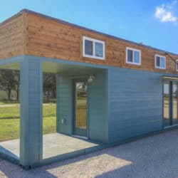 Stylish Shipping Container Home With Built In Front Porch