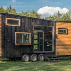 The Escher Tiny Home Built For A Family of Three