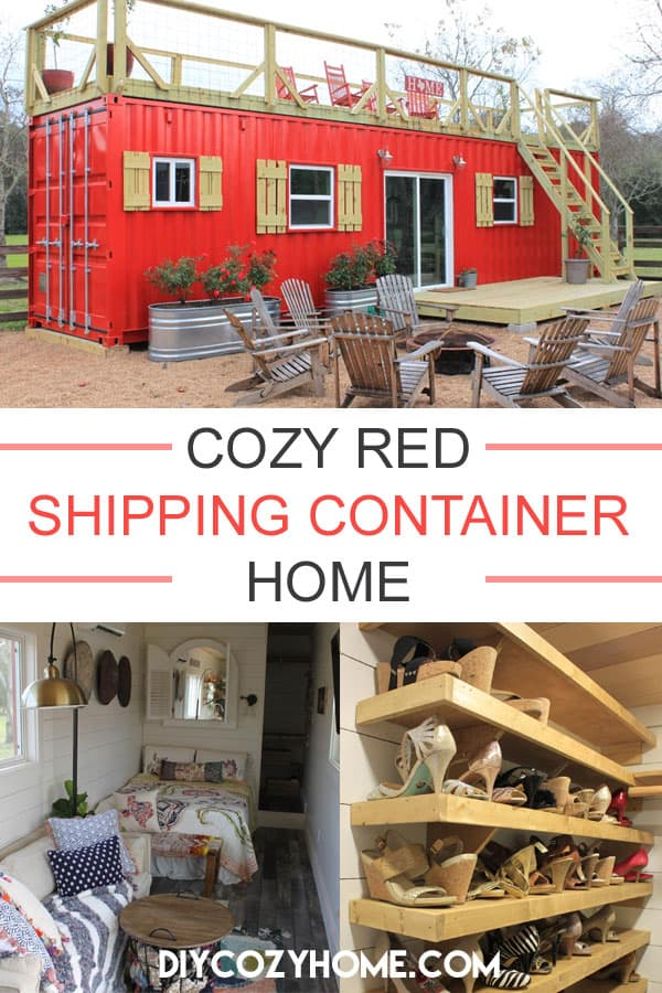 Tour This Cozy Shipping Container Home Set On The Texas Countryside