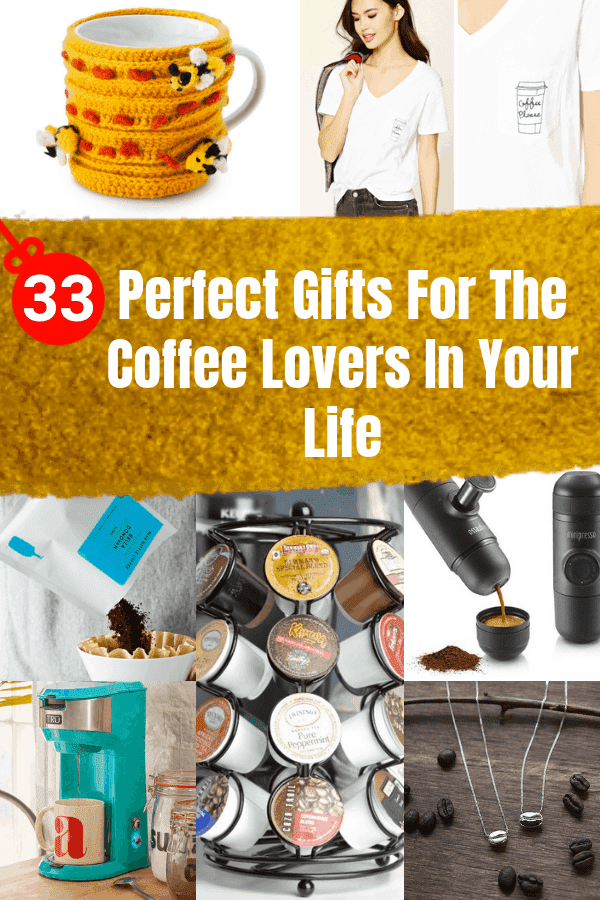 33 Perfect Gifts For The Coffee Lovers In Your Life #coffee #giftideas