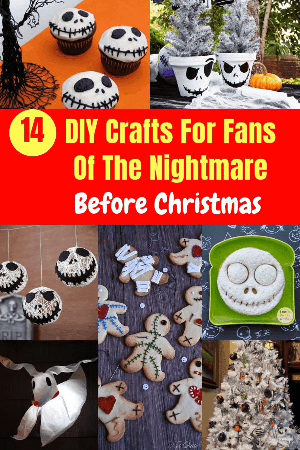 14 DIY Crafts For Fans Of The Nightmare Before Christmas #crafts #nightmarebeforechristmas