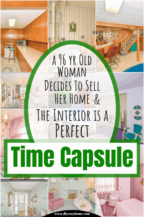 A 96 Year Old Woman Decides To Sell Her Home And The Interior Is A Perfect Time Capsule #vintagedecor #timecapsulehome