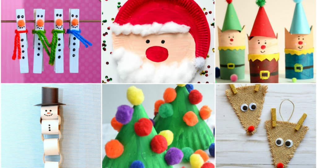 24 Easy Christmas Crafts For Kids