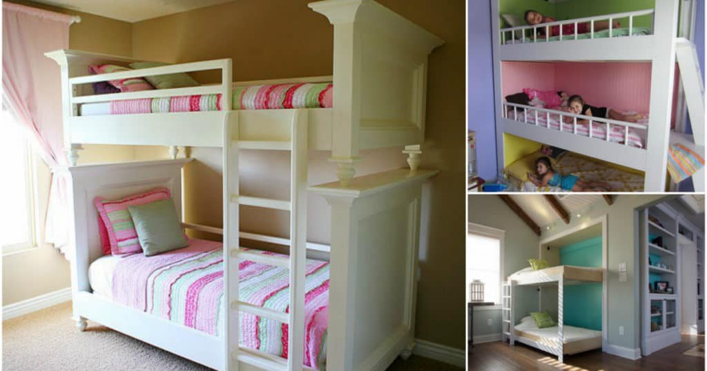 24 Diy Bunk Bed Ideas With Free Plans