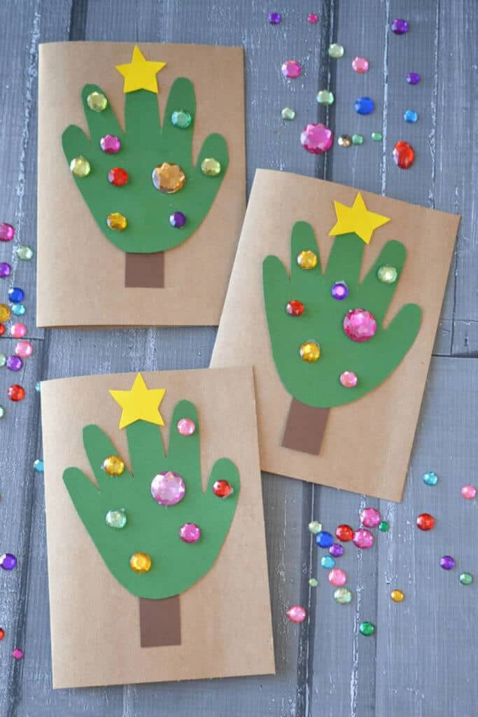 24 easy christmas crafts for kids  diy cozy home