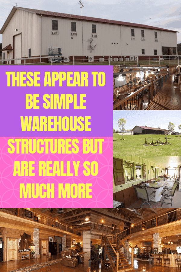 These Appear To Be Simple Warehouse Structures But Are Really So Much More #warehousehome #uniquehomes