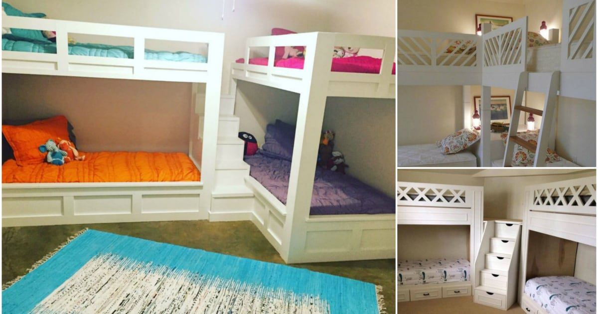 21 Space Saving Corner Bunk Bed Ideas Diy Cozy Home