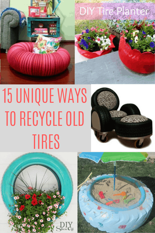 15 Unique Ways To Recycle Old Tires