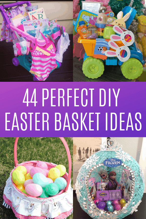 44 Perfect DIY Easter Basket Ideas
