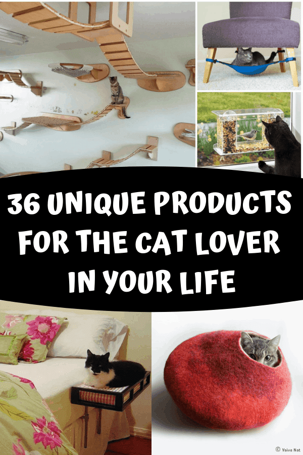 36 Unique Products For The Cat Lover In Your Life